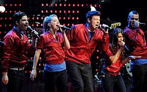"Cast of Fox's ""Glee"" Perform at The Gibson Amphitheater"