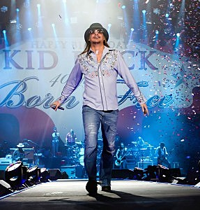 "Kid Rock ""Born Free"" Tour Opener and 40th Birthday Party"