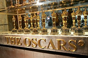 Academy Awards Displays Oscar Statuettes