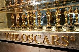 Academy Awards Displays Oscar Statuettes