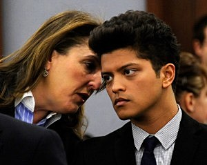 Bruno Mars Court Appearance In Las Vegas