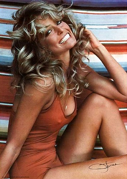 Farrah Fawcett's Red Swimsuit Goes To The Smithsonian