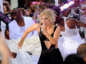 "Lady Gaga Performs On NBC's ""Today"" - July 9, 2010"