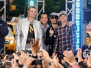 Backstreet Boys Perform On CBS' The Early Show Summer Concert Series