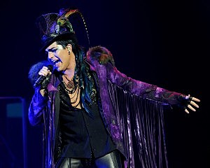 "Adam Lambert Performs On His ""Glam Nation 2010 Tour"" At Club Nokia"