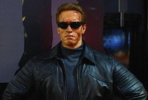 Madame Tussauds Unveils New Arnold Schwarzenegger Terminator 3 Waxwork