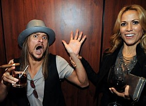 Sheryl Crow and Kid Rock