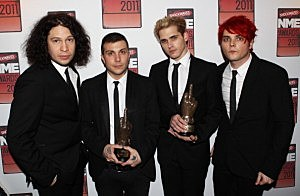 Shockwaves NME Awards 2011 - Winners Boards - my chemical romance