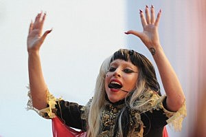 Lady Gaga Performs for Canal+ on the Croisette - 64th Annual Cannes Film Festival