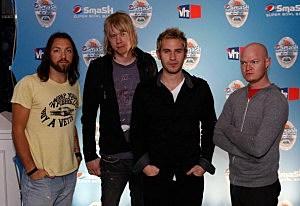 NFL Pepsi Smash Super Bowl Concert - lifehouse