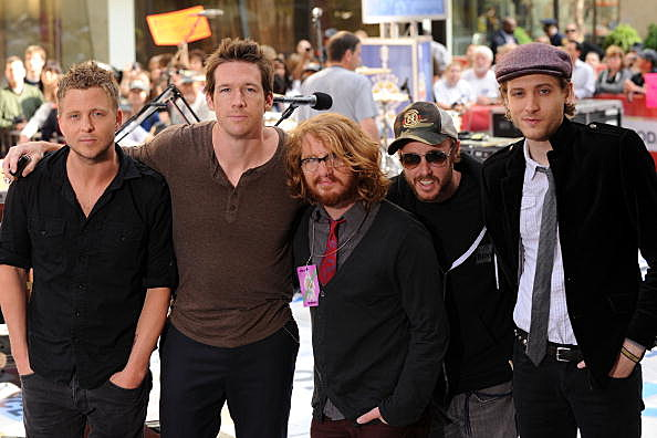 "One Republic Performs On NBC's ""Today"" - May 28, 2010"