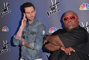 """NBC's """"The Voice"""" Press Conference - adam levine - cee lo green"""