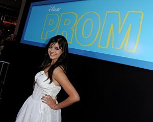 "Premiere Of Walt Disney Pictures' ""Prom"" - Red Carpet - rebecca black"