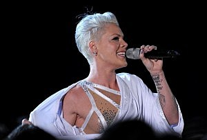 The 52nd Annual GRAMMY Awards - Show - pink