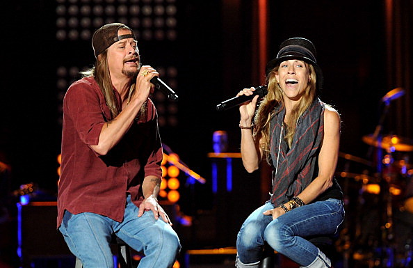 2011 CMT Music Awards - Rehearsals - Day 2 - kid rock and sheryl crow