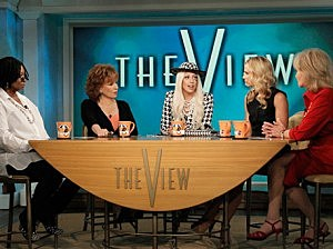 Gaga on The View
