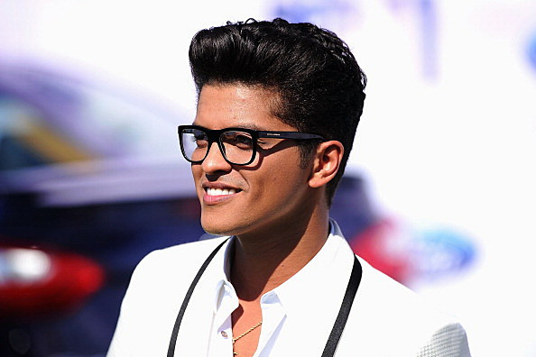 bruno mars considers new hairstyle dumping pompadour
