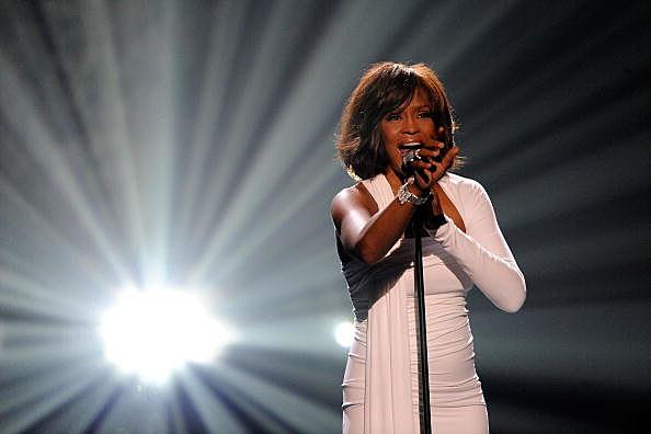 Whitney Houston at 2009 American Music Awards - Show
