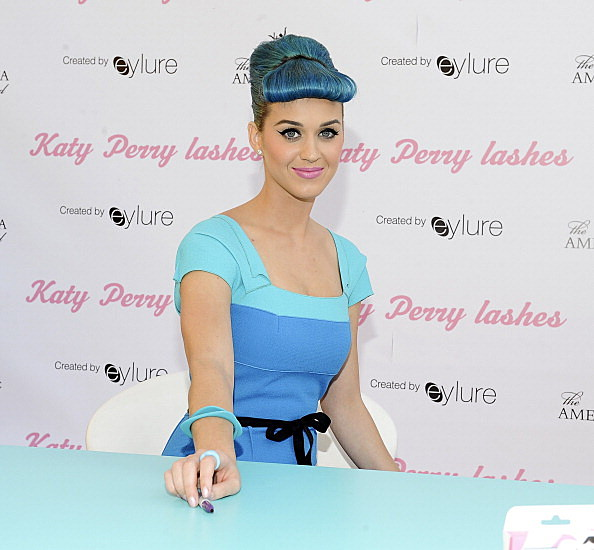 Katy Perry Lashes Created By Eylure Launch Event