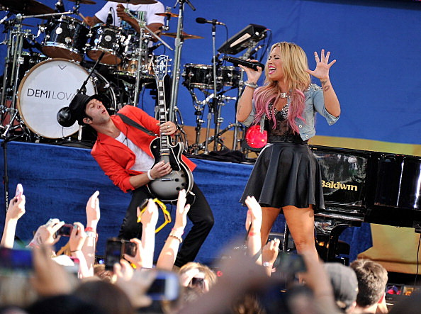 "Demi Lovato Performs On ABC's ""Good Morning America"""