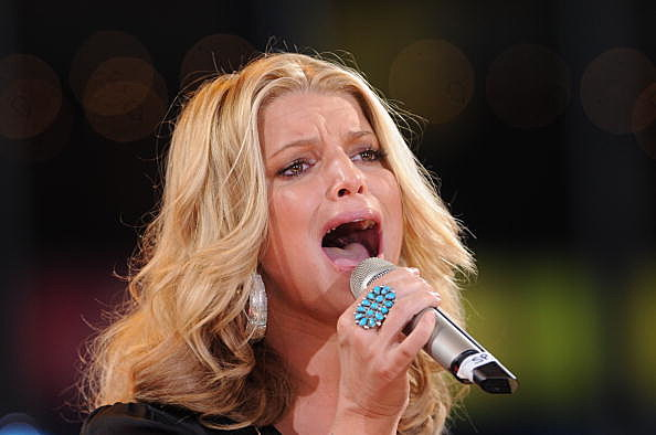 "Jessica Simpson Performs On ABC's ""Good Morning America"""