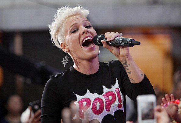 "Pink Performs On NBC's ""Today"""