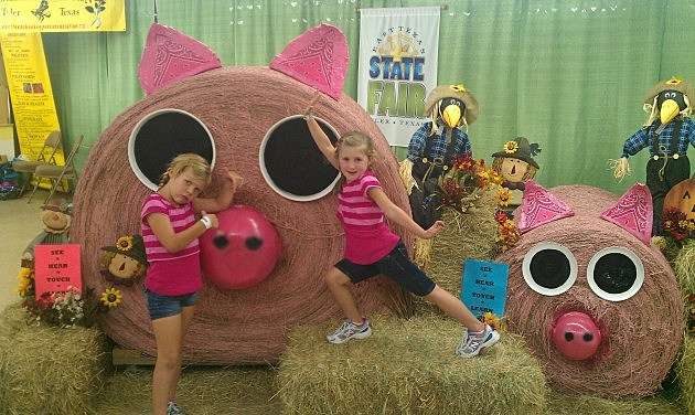 Rebecca and Mia At East Texas Fair