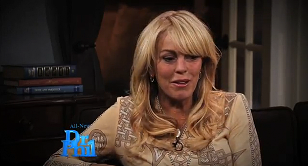 Dina Lohan questioned by Dr. Phil