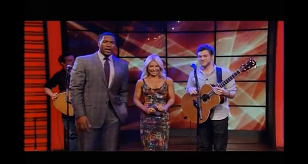 Phillip Phillips on Live! With Kelly & Michael