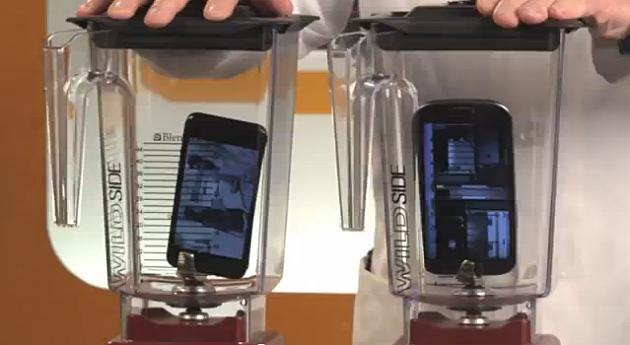 Blendtech Blender - iPhone 5 vs. Samsung Galaxy S3