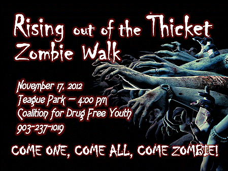 Zombie Walk in Longview