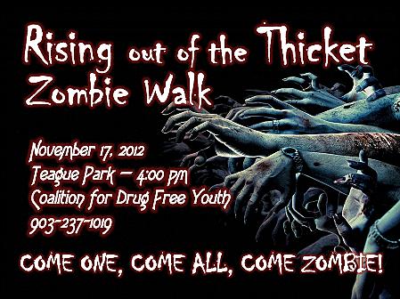 Zombie Walk in Longview
