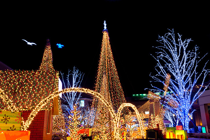 best places to see christmas lights in tyler east texas