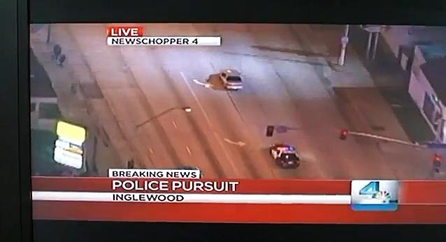 LA police chase