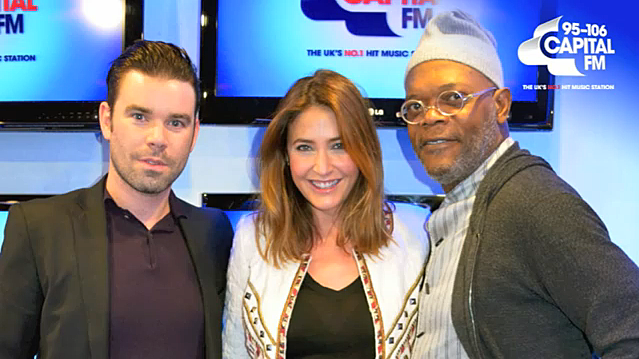 Samuel L. Jackson at London's Capital FM