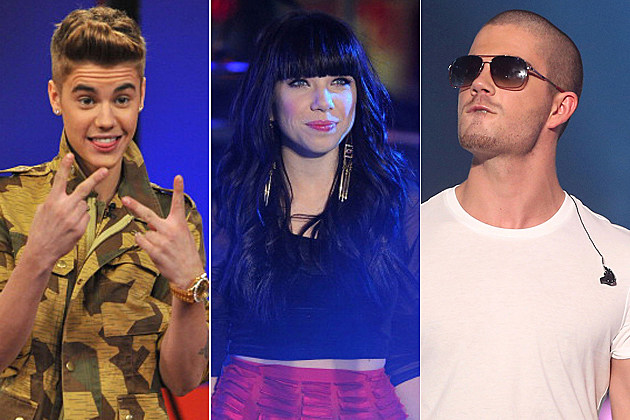 Justin Bieber - Carly Rae Jepsen - The Wanted
