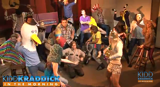 Kidd Kraddick in the Morning Harlem Shake