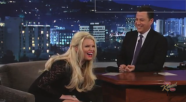 Jessica Simpson on Jimmy Kimmel Live