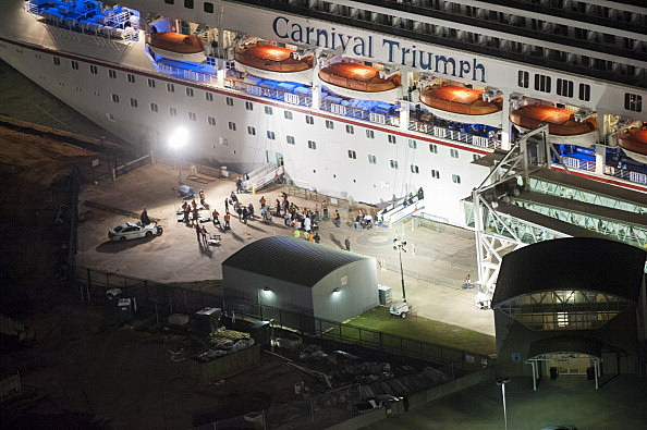 Crippled Carnival Cruise Ship Arrives In Mobile