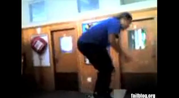 backflip fail