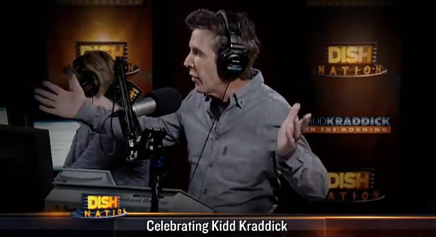 Kidd Kraddick in the Morning on Dish Nation