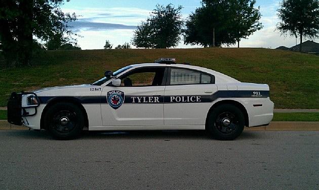 Tyler police car