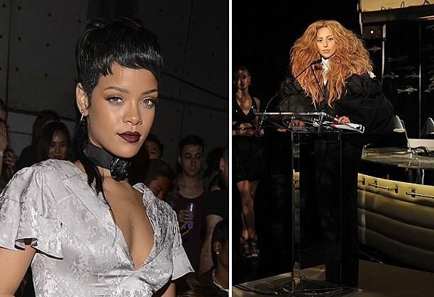 Rihanna + Lady Gaga