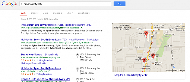 South Broadway Google