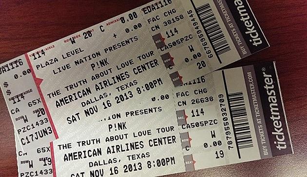 Pink concert tickets