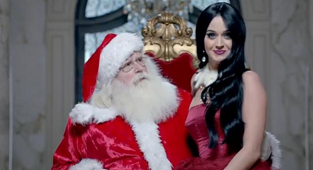 Santa Claus and Katy Perry