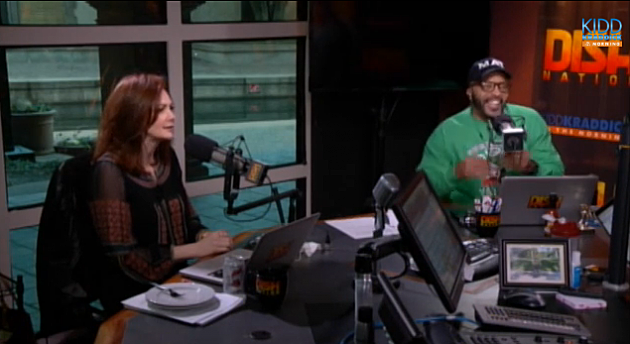 Kellie Rasberry and Big Al from Kidd Kraddick in the Morning