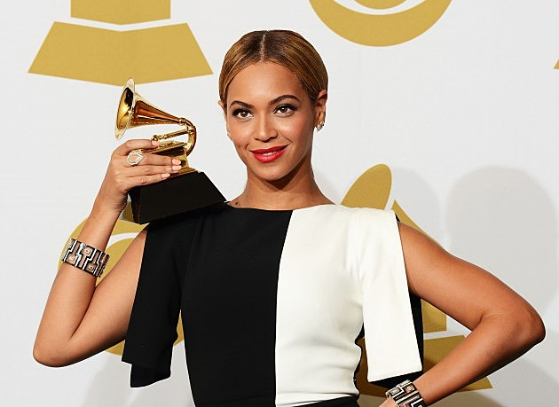 Beyonce at the The 55th Annual GRAMMY Awards - Press Room