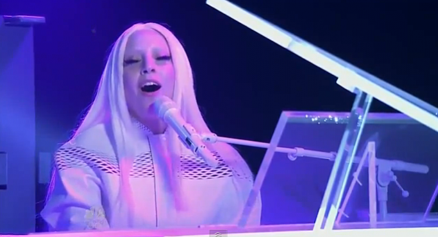 Lady Gaga on The Tonight Show with Jimmy Fallon