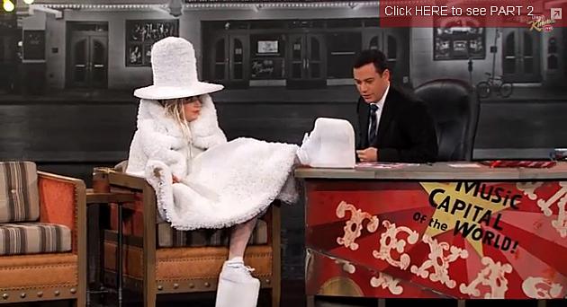 Lady Gaga on Jimmy Kimmel Live